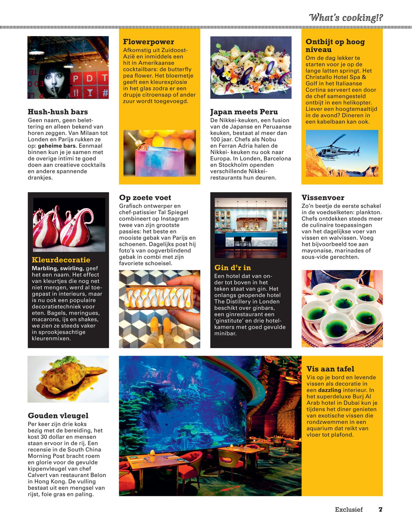 Sligro Exclusief Magazine 02 2017 Pagina 8 9
