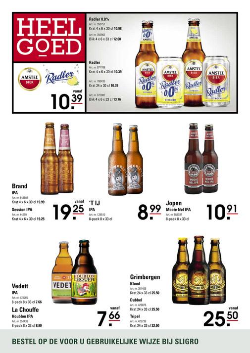 Sligro - Bier & Cider 05 - 2019 - Pagina 1